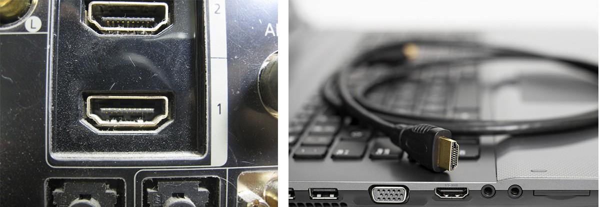 HDMI-выход на телевизоре