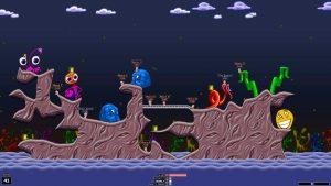 Игра Worms Armageddon для нетбука