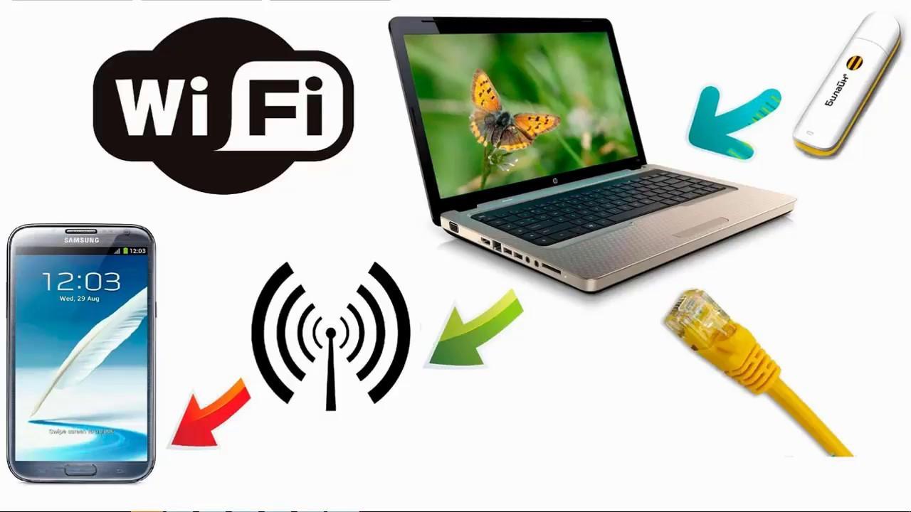 Как раздать вай фай с ноутбука