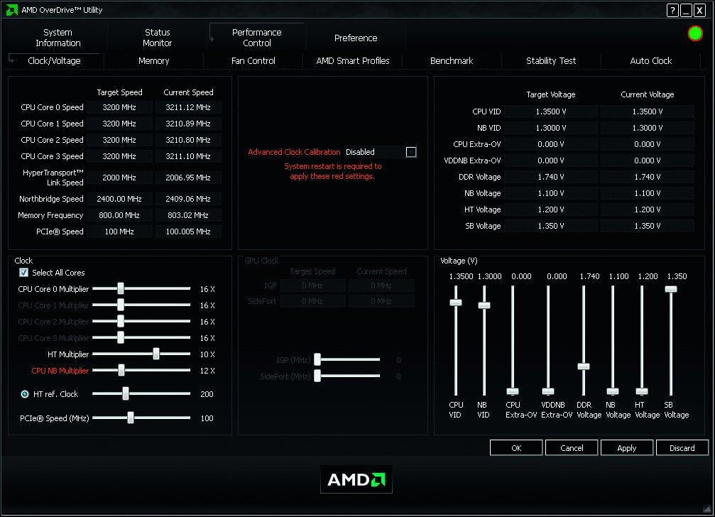 AMD OverDrive