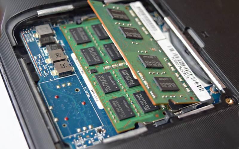 оперативную память на ноутбуке