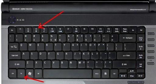 звук на ноутбуке