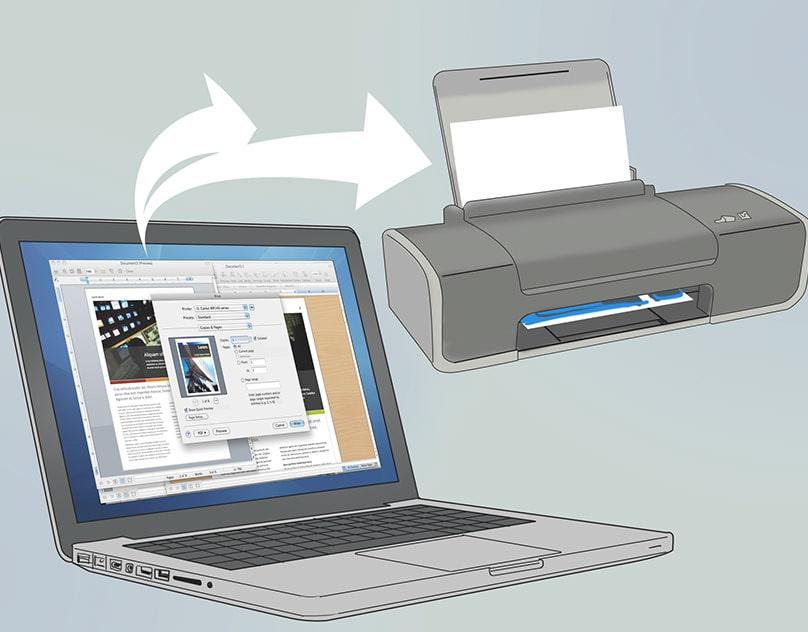Подключение МФУ по Wi-Fi к ноутбуку, через подключение к роутеру по USB
