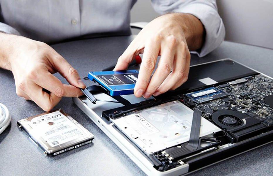 Как поменять жесткий диск на ноутбуке — на SSD, с сохранением системы