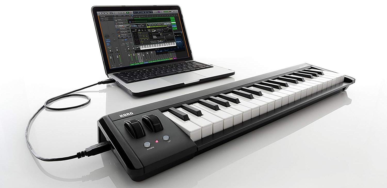 Подключение миди-клавиатуры
