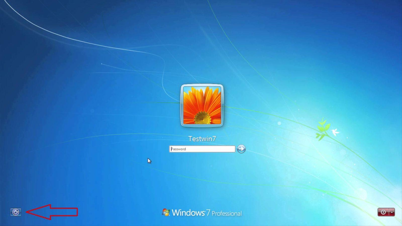 Установка пароля при загрузке на ноутбуке