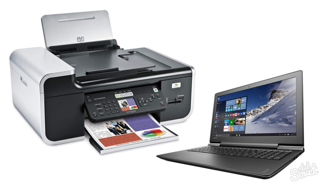 Подключение принтера к ноутбуку через роутер Wi-Fi