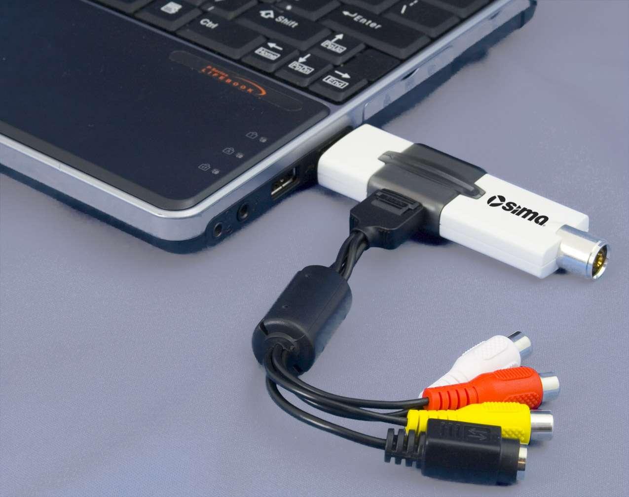Подключение и настройка USB-тюнера