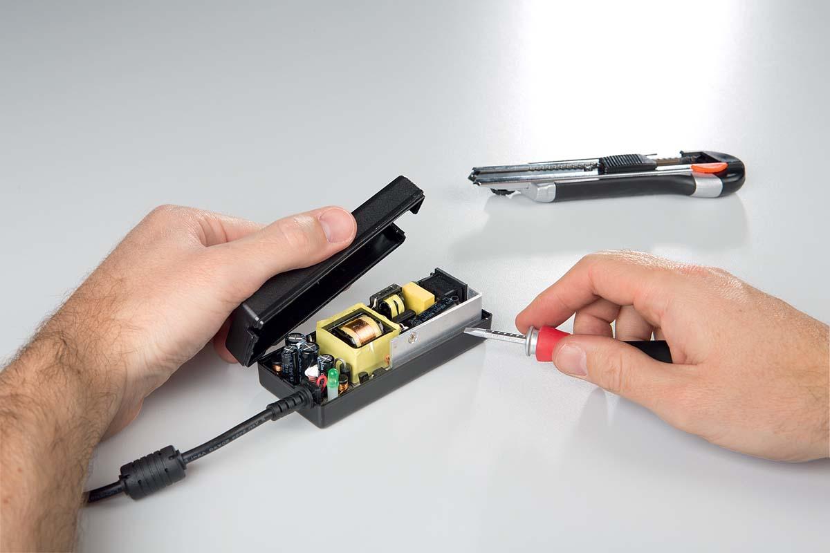 Ремонт зарядного устройства для ноутбука своими руками