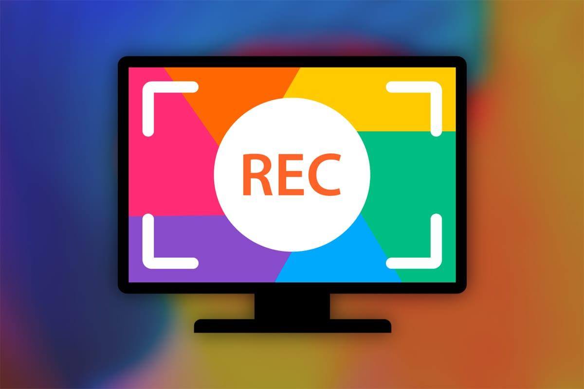 Запись видео с экрана без сторонних программ