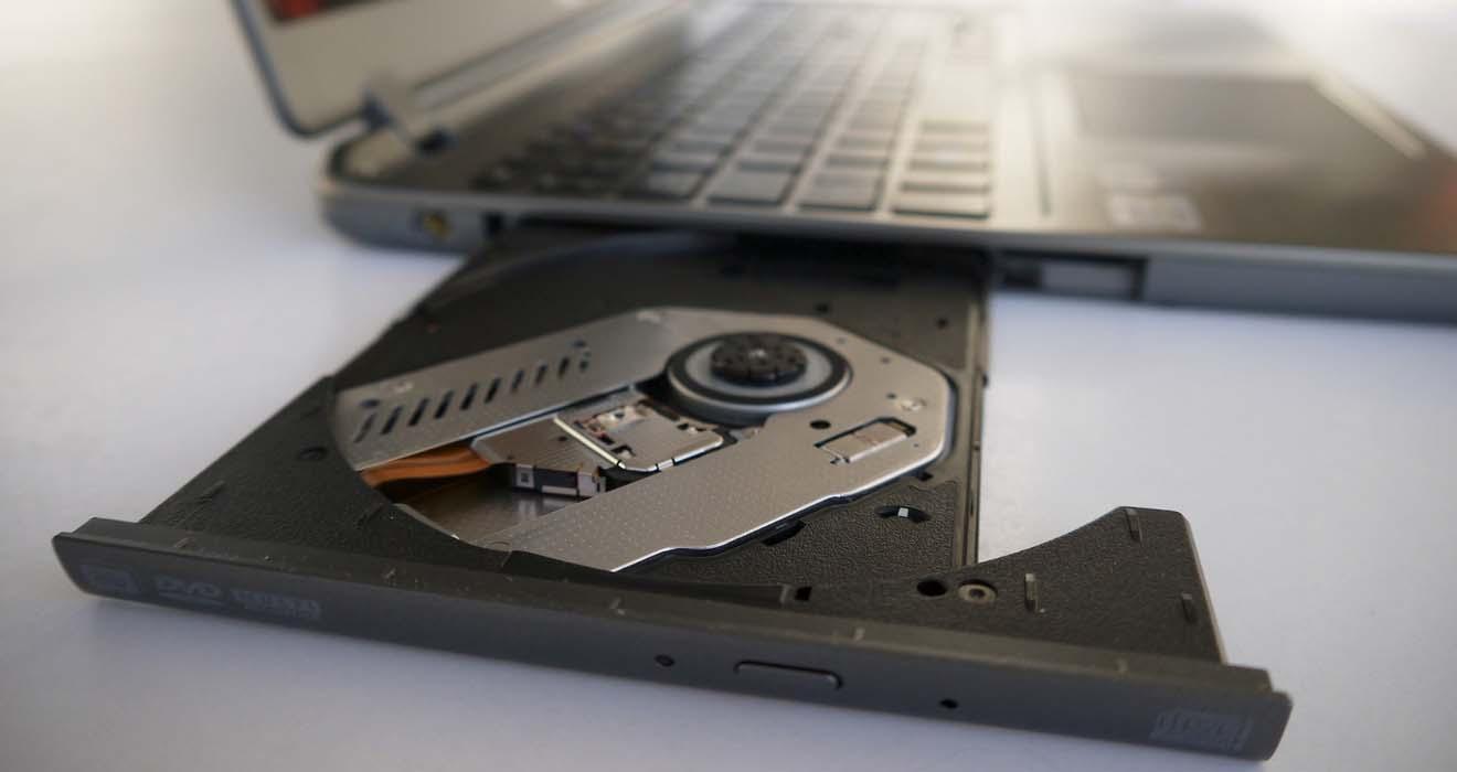 Описание ремонта привода DVD-дисковода на ноутбуке