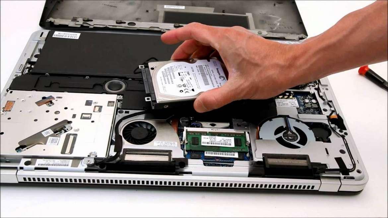 Как поменять жесткий диск на ноутбуке и сохранить Windows