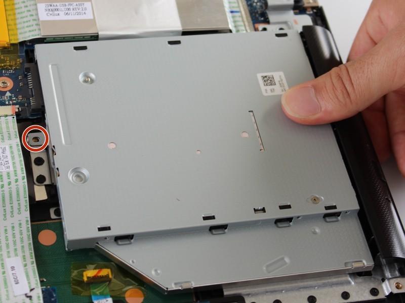 Ремонт привода DVD-дисковода на ноутбуке